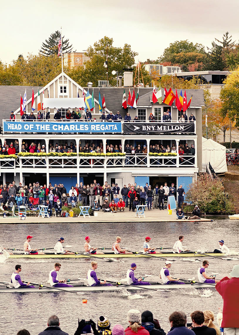 Mens Eights Cambridge Boathouse