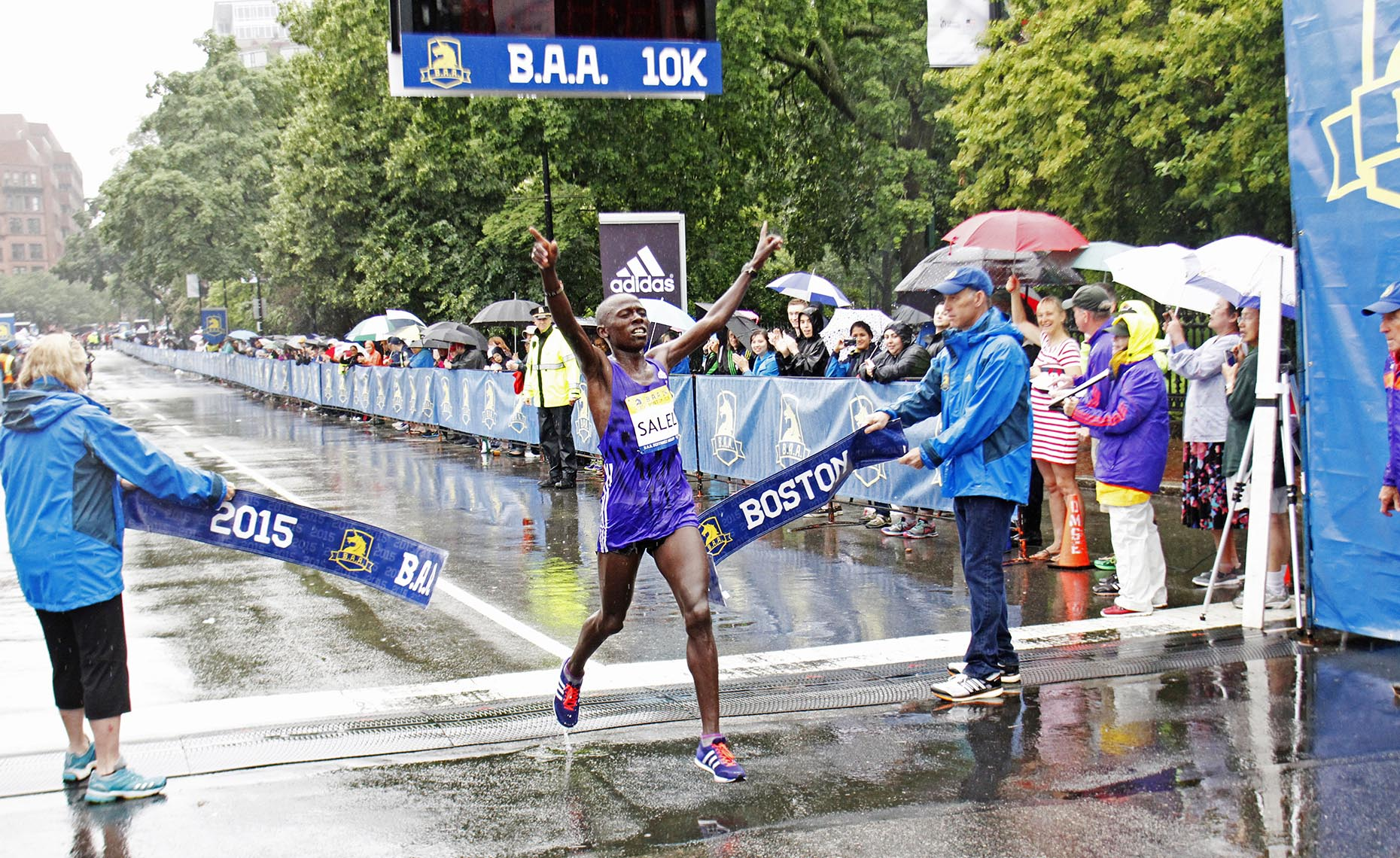 Salel Winning BAA 10K.JPG