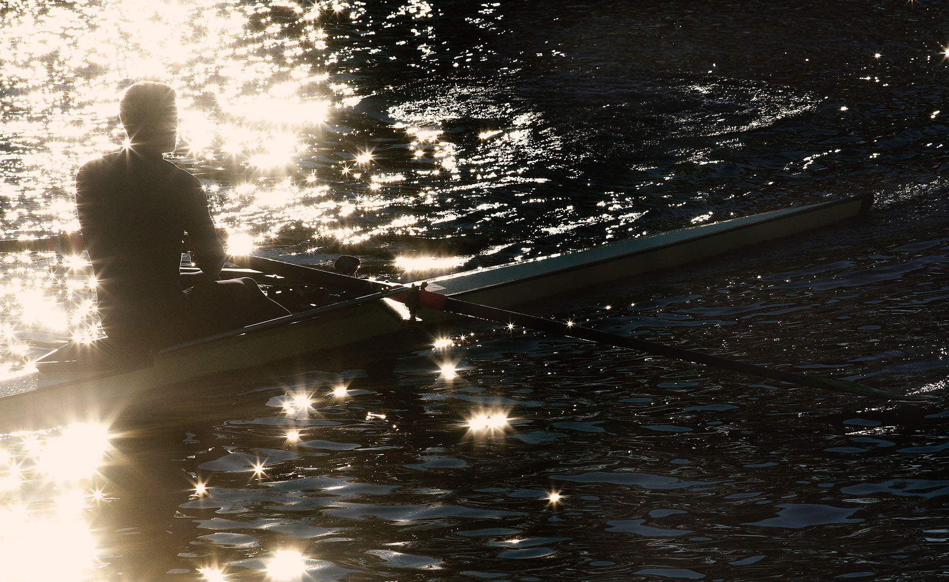 Sculler Silhouette