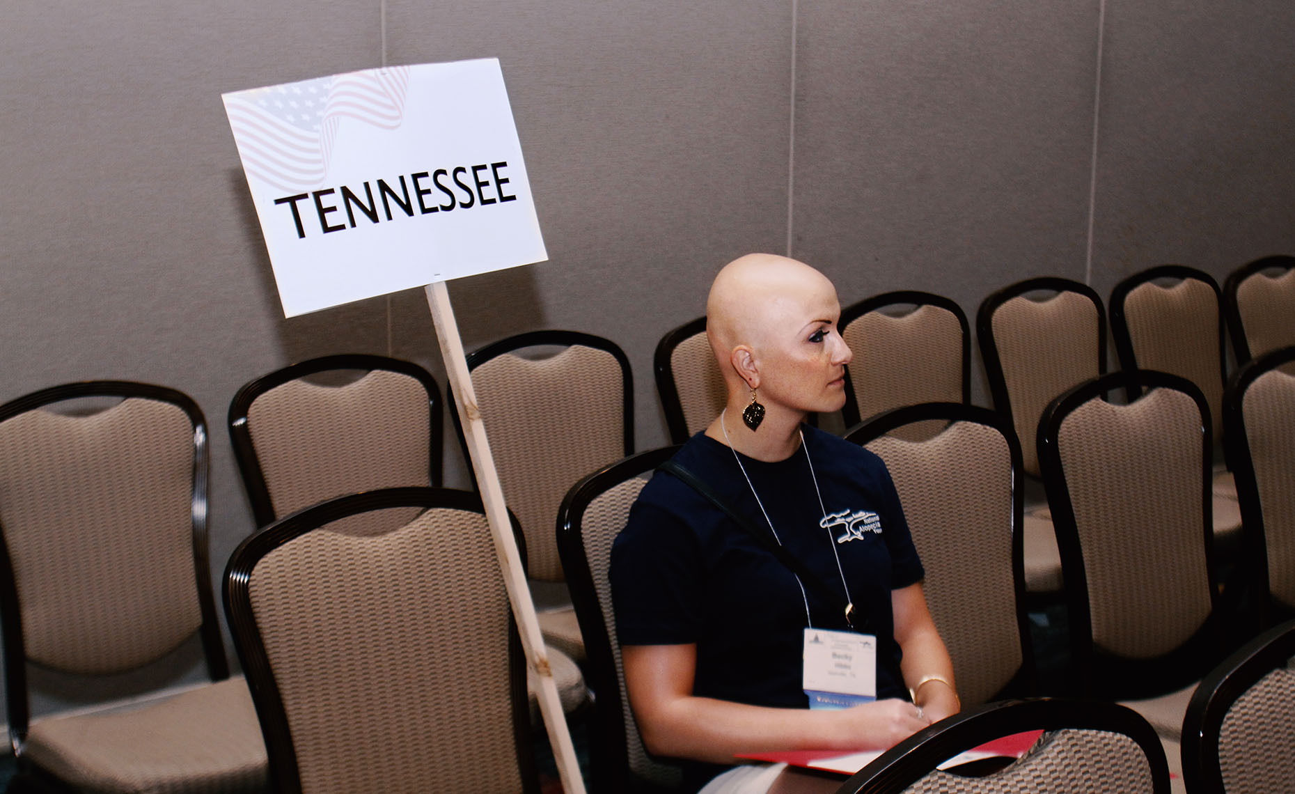 Bald Woman from Tennessee