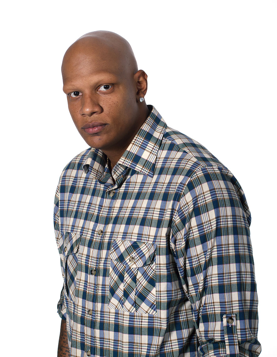 Portrait of NBA Star Charlie Villanueva